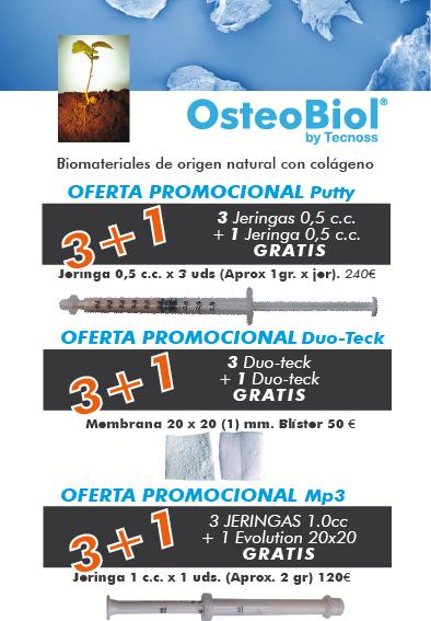 Promociones OsteoBiol Noviembre - Diciembre 2011