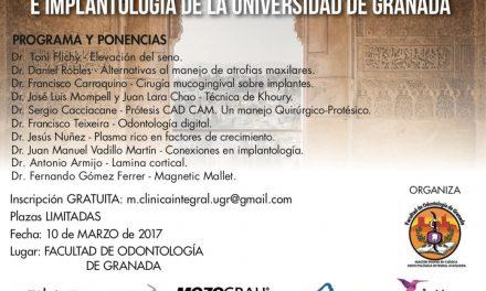 Simposio del Máster en clínica integral avanzada e implantología. Univ. de Granada