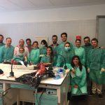 Taller con el Dr. Antonio Murillo en en el Máster en implanto-prótesis de la Universidad de Salamanca