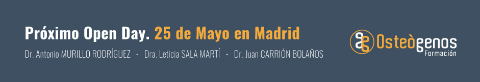 22º Open Day Osteógenos en Madrid