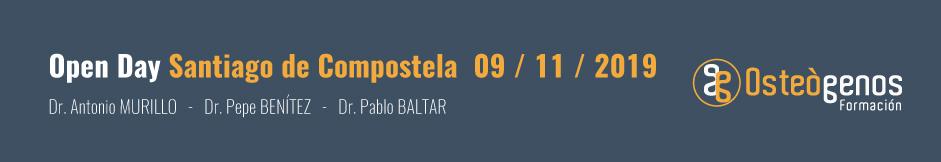 24º Open Day Osteógenos en Santiago de Compostela