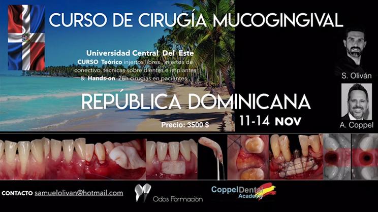 Curso de cirugía mucogingival en República Dominicana