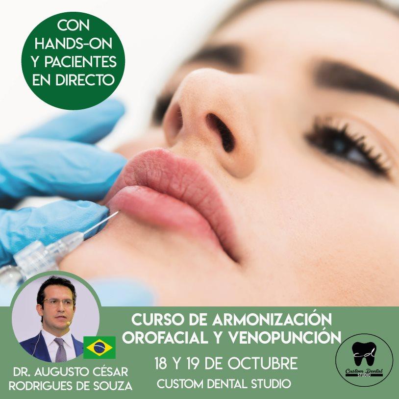 Curso de armonización orofacial y venopunción