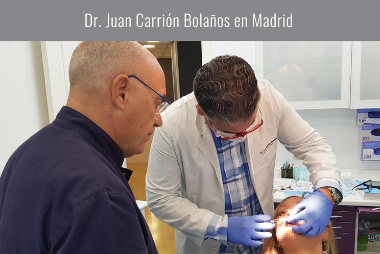 Dr. Juan Carrión en Madrid
