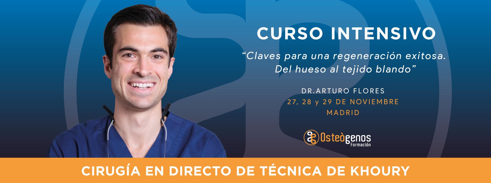 Curso intensivo con el Dr. Arturo Flores
