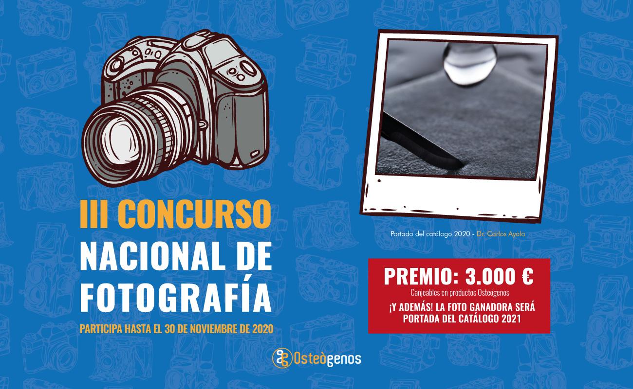 III Concurso de Fotografía Osteógenos