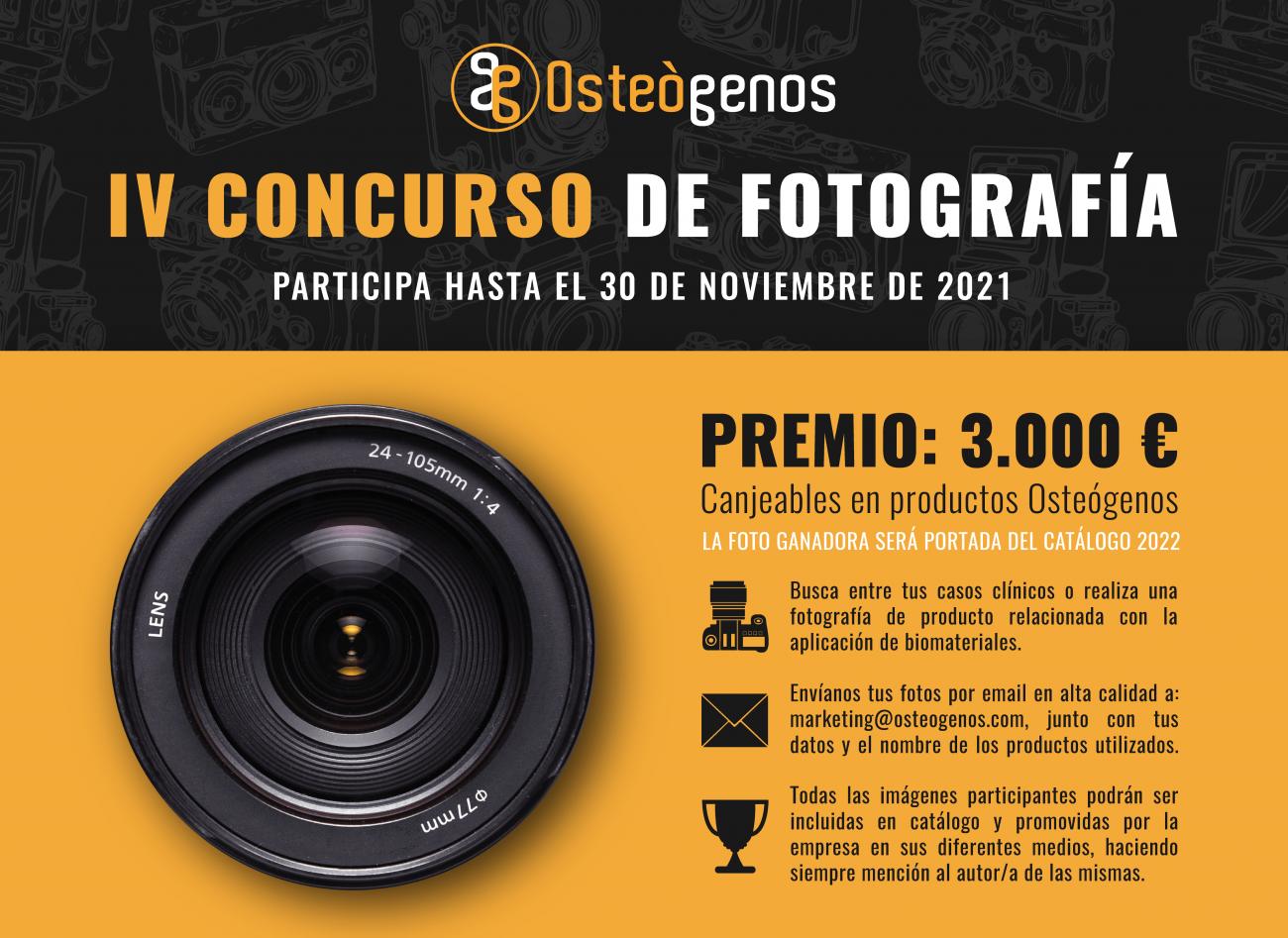 IV Concurso de Fotografía Osteógenos